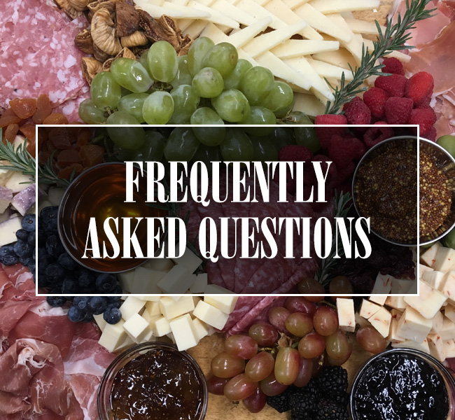Frequently Asked Questions Tile Button
