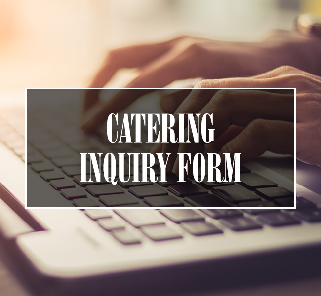 Catering Inquiry Form Tile Button